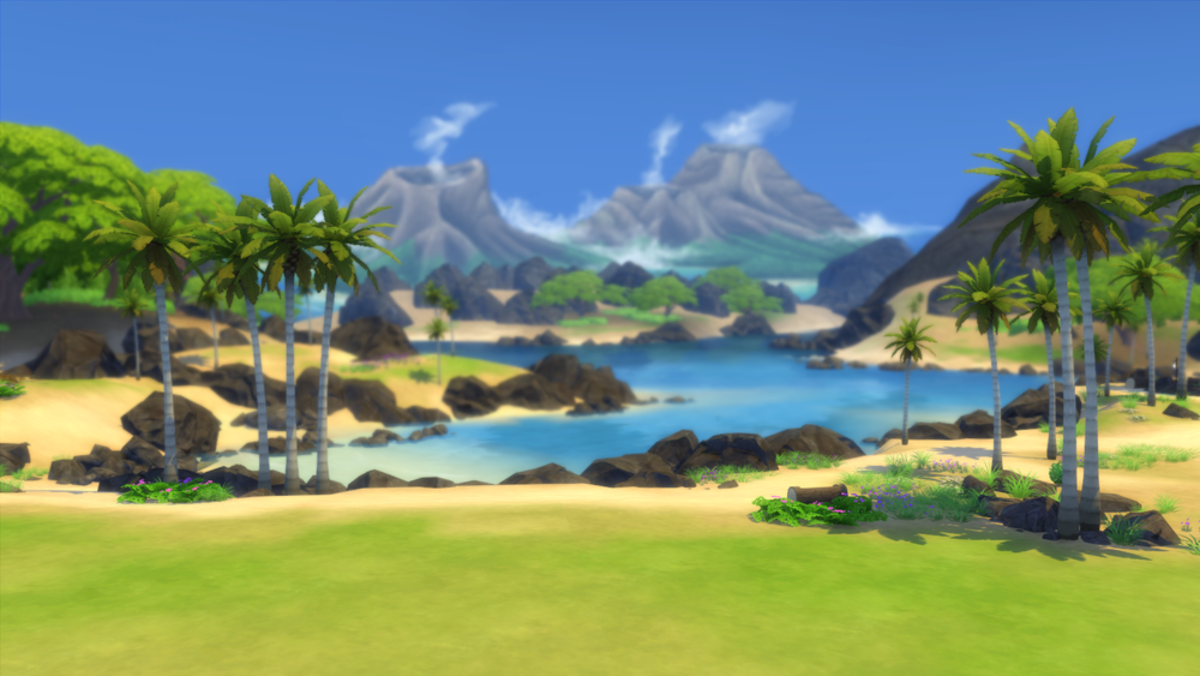 Allow your Sims to hang out on the beach with the Tropical Getaway Mod!