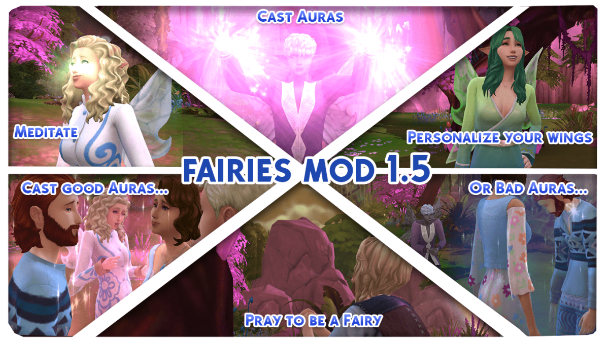 Be a good- or bad- fairy with Nyx's Fairies mod!