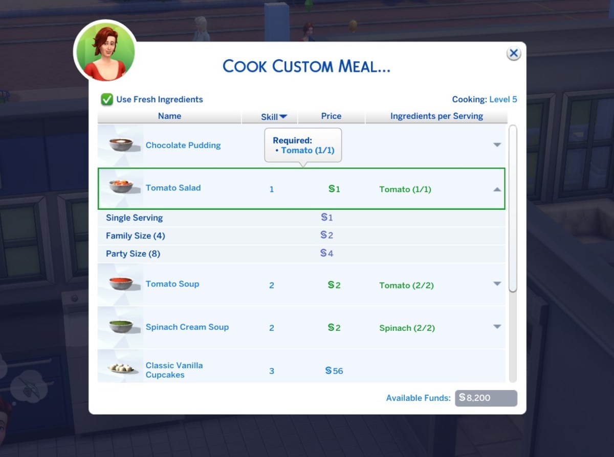 The Custom Food Interactions mod allows you to add in custom food made by CC creators!