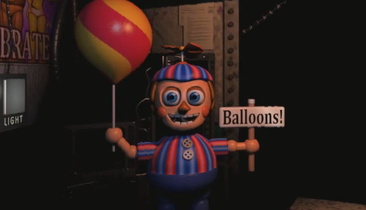 Balloon Boy is in the office. You will come to hate this child more than any other animatronic.