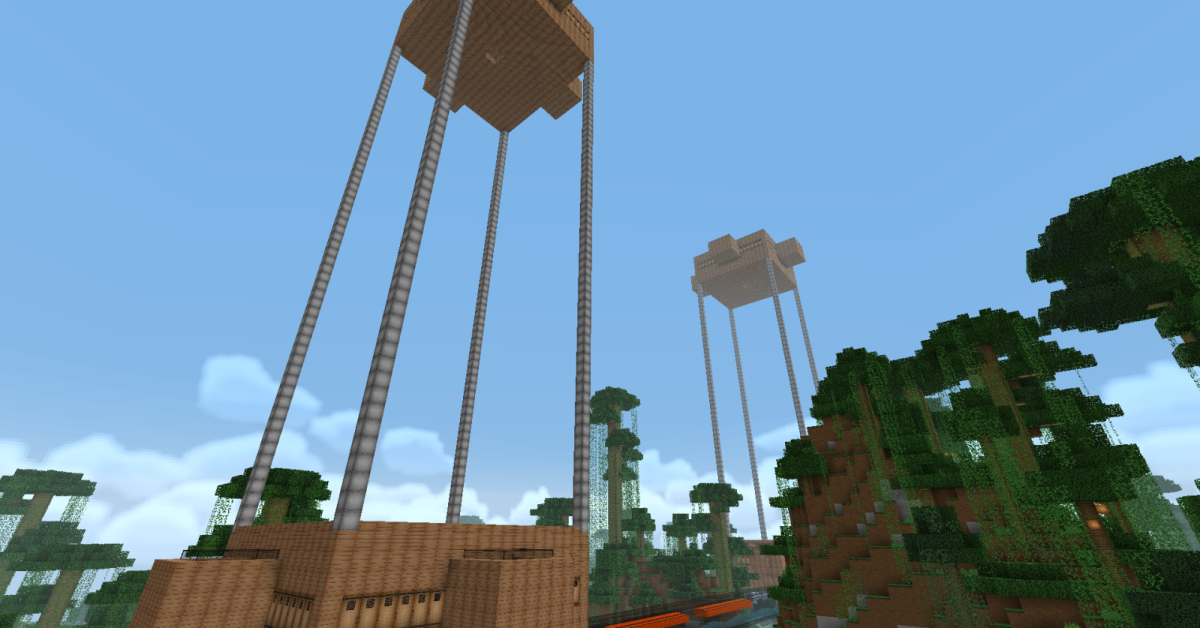 "This is an interesting object to build as it is a newish Mob in ""Minecraft."""