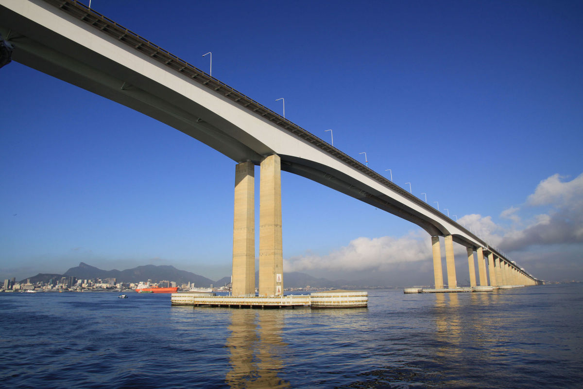 Rio has a bridge as well, Chaos Bridge looks to be a hybrid of Rio–Niterói Bridge and Octávio Frias de Oliveira Bridge located in  São Paulo Brazil