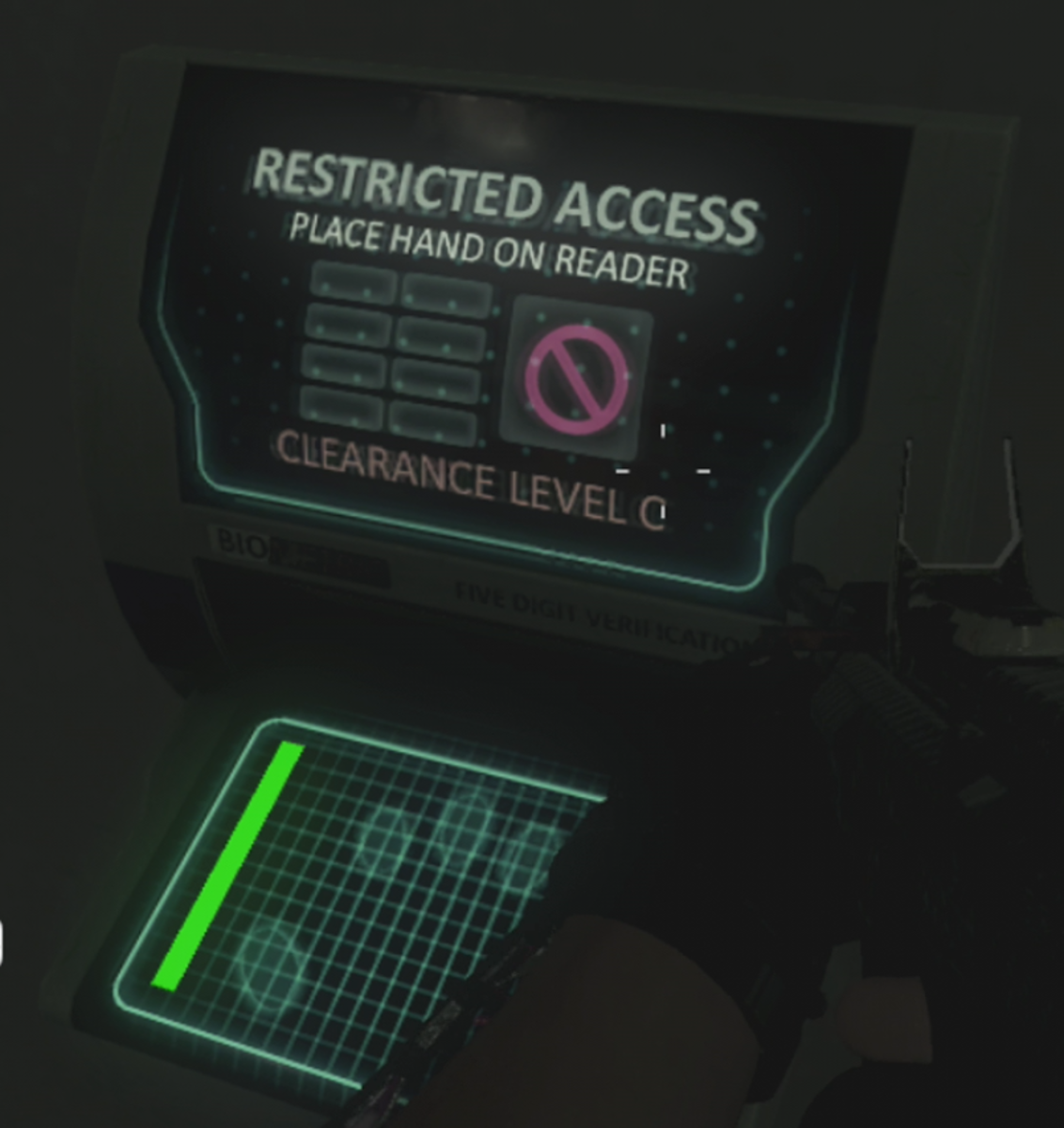 Hand Scanner Step - 'Game Over Man' Easter Egg in Outbreak