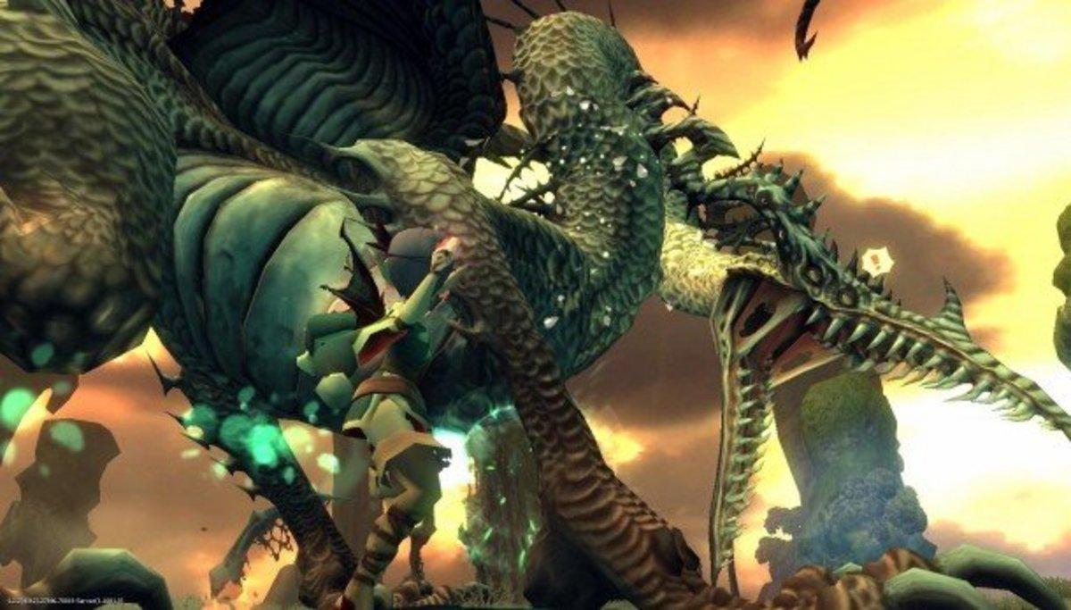 """""""Dragon Nest"""" Boss"""