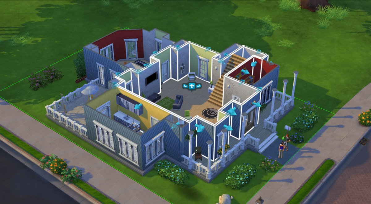The build tool is supposedly more intuitive than it has been in previous Sims games.
