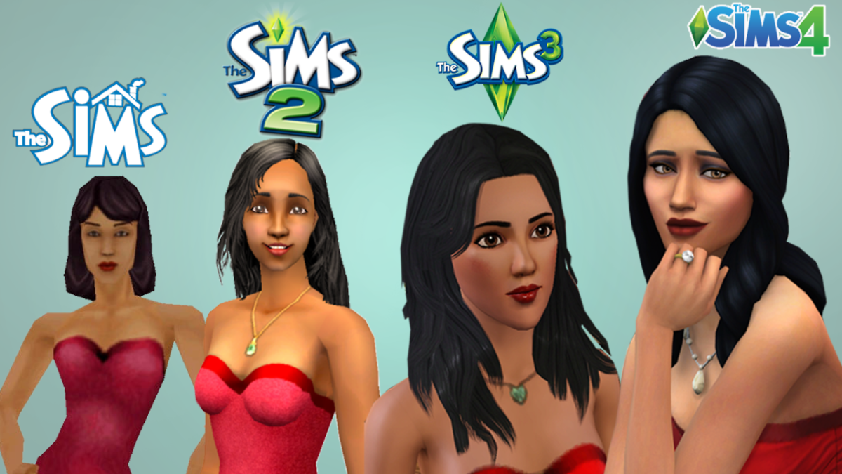 Bella Goth has made an appearance in every Sims game to date, and the animation has changed greatly since the first game.
