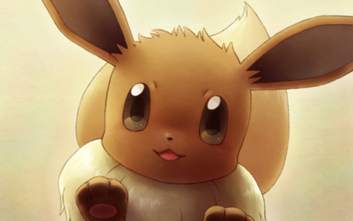 Eevee's pretty cute, eh?