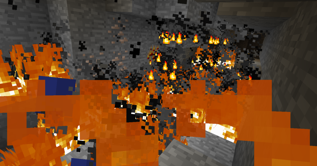 Gas fires can quickly get out of hand.