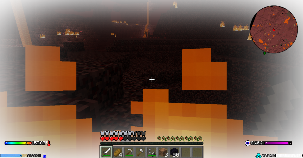 ...or bake in the Nether.