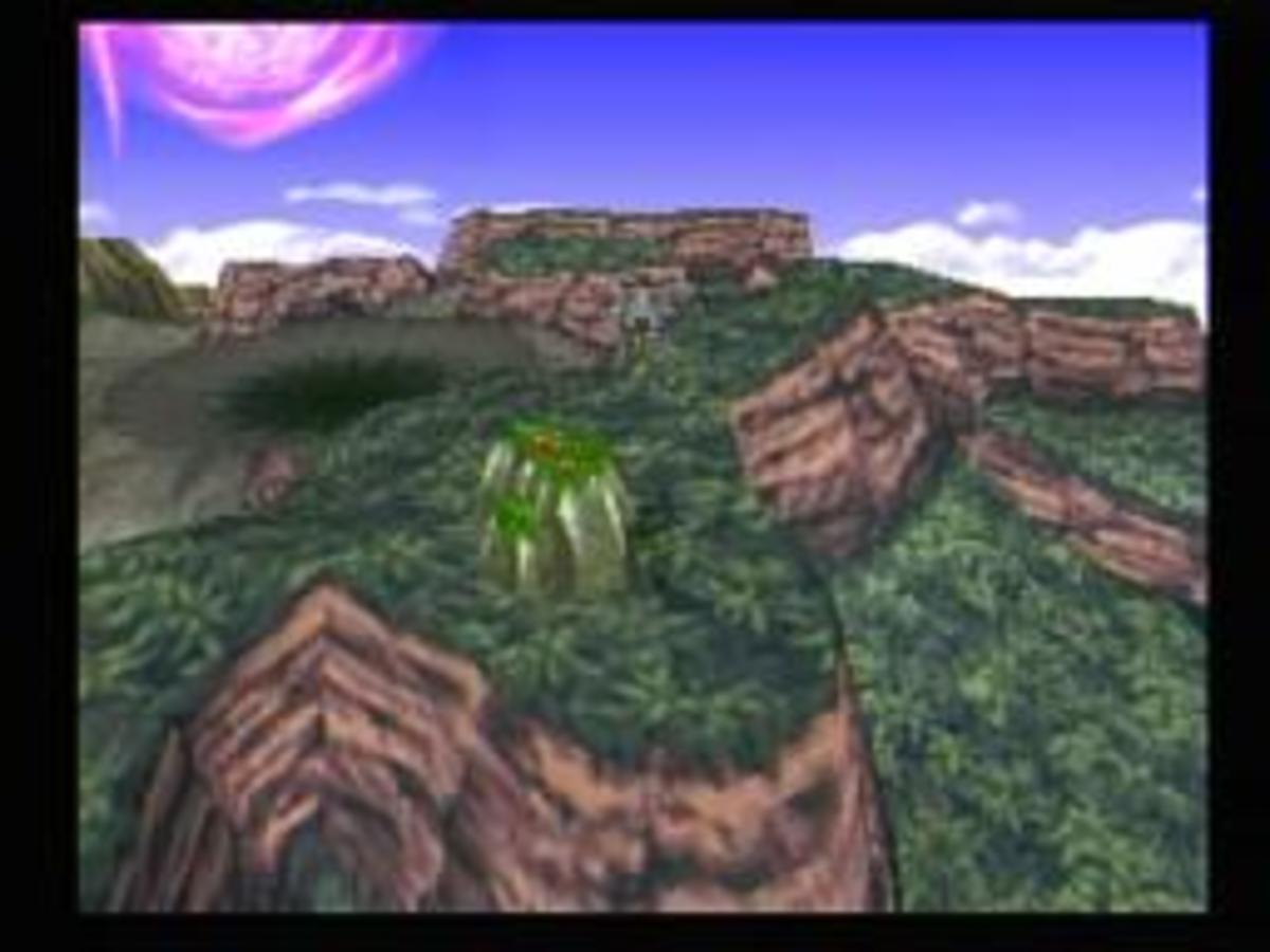 The Ancient Forest, just beyond the crater marking the demise of Ultimate WEAPON.