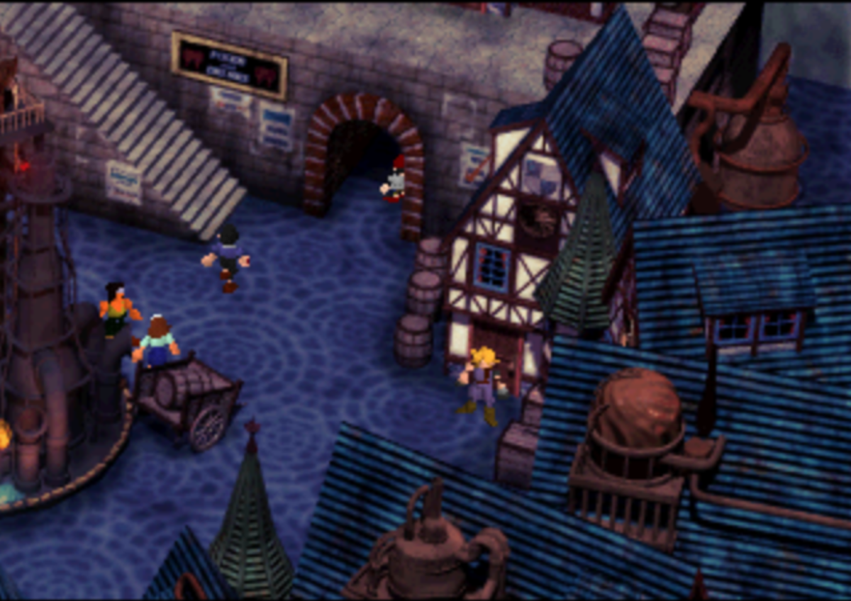 This is the house where the player may find the Kalm Traveler.