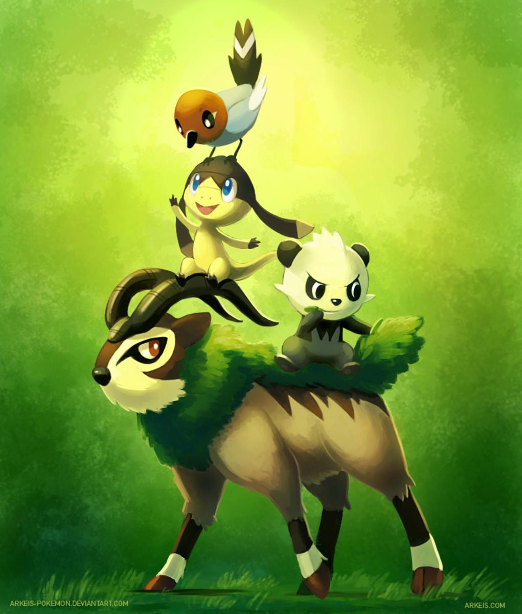 Various Generation 6 Pokemon