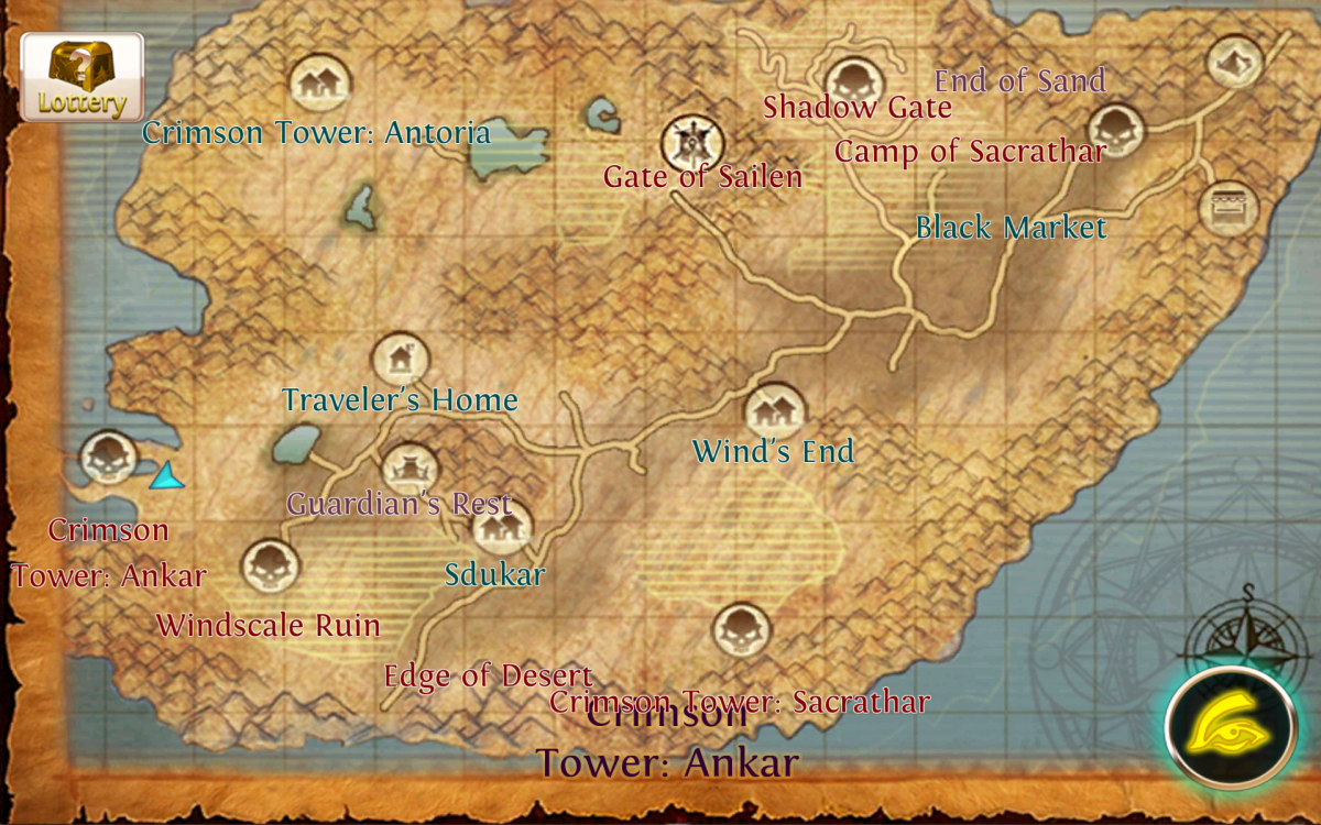 Where to farm Advanced Armor Scraps at Crimson Tower: Ankar