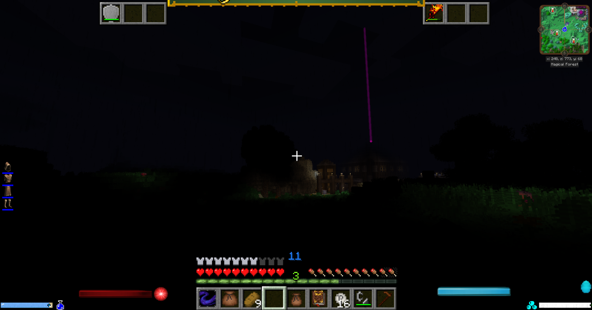 Beacons like this are only available to those who use either Journeymap or Voxelmap
