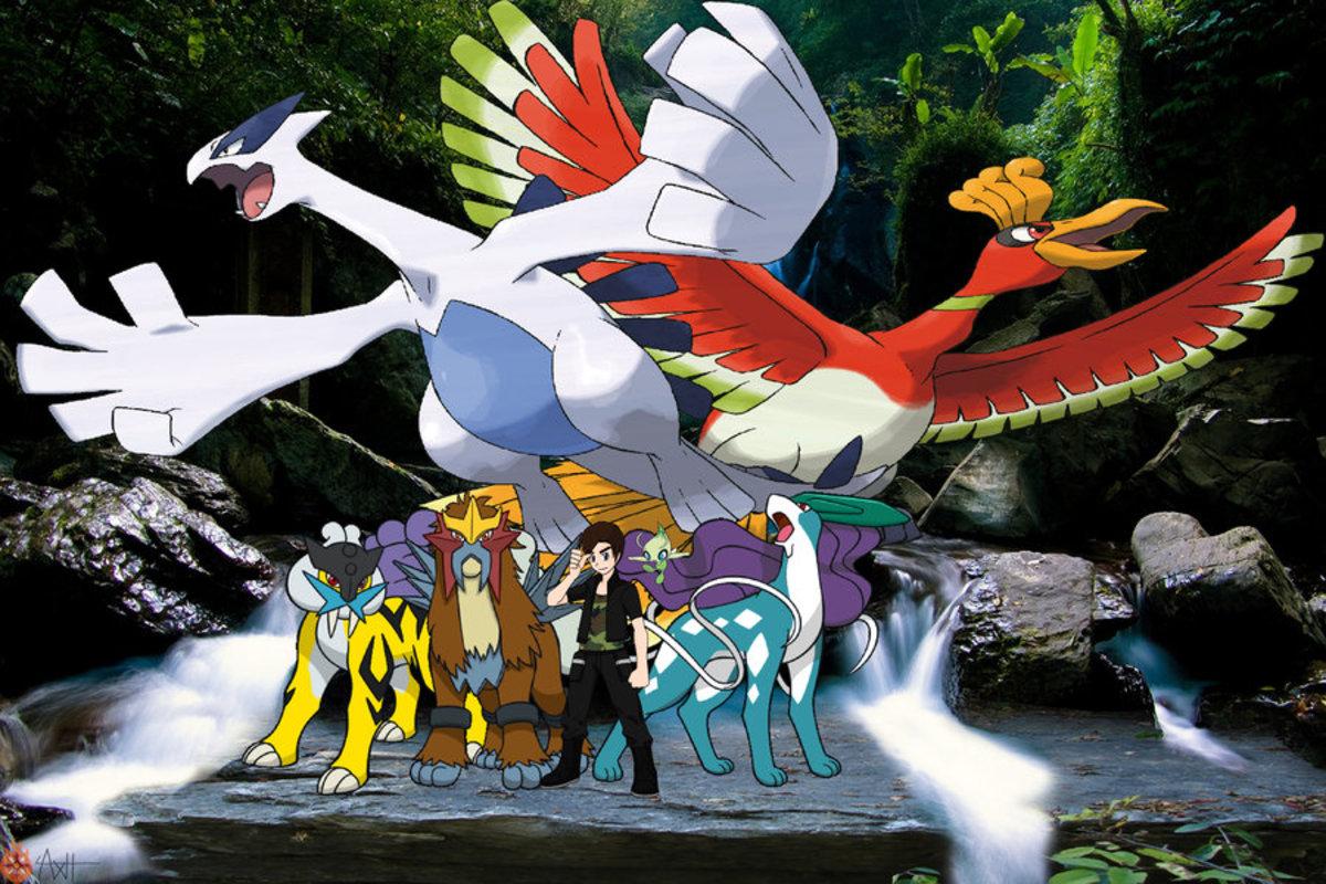 Johto's Legendary Pokemon