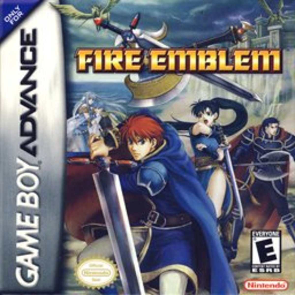 Boxart of the first localized Fire Emblem