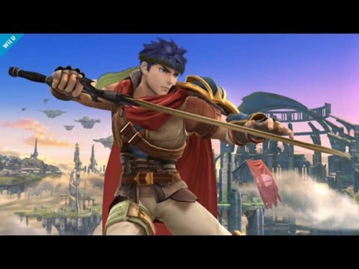 "Ike in ""Smash 4"""