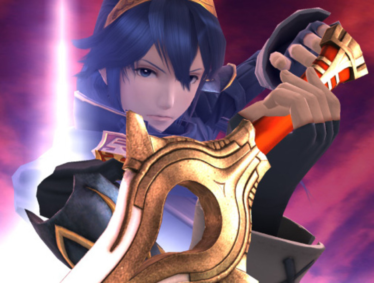 "Lucina in ""Smash 4"""