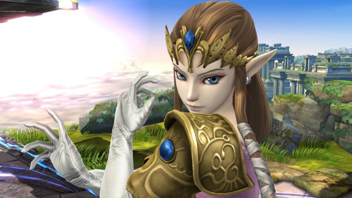 "Zelda in ""Smash 4"""