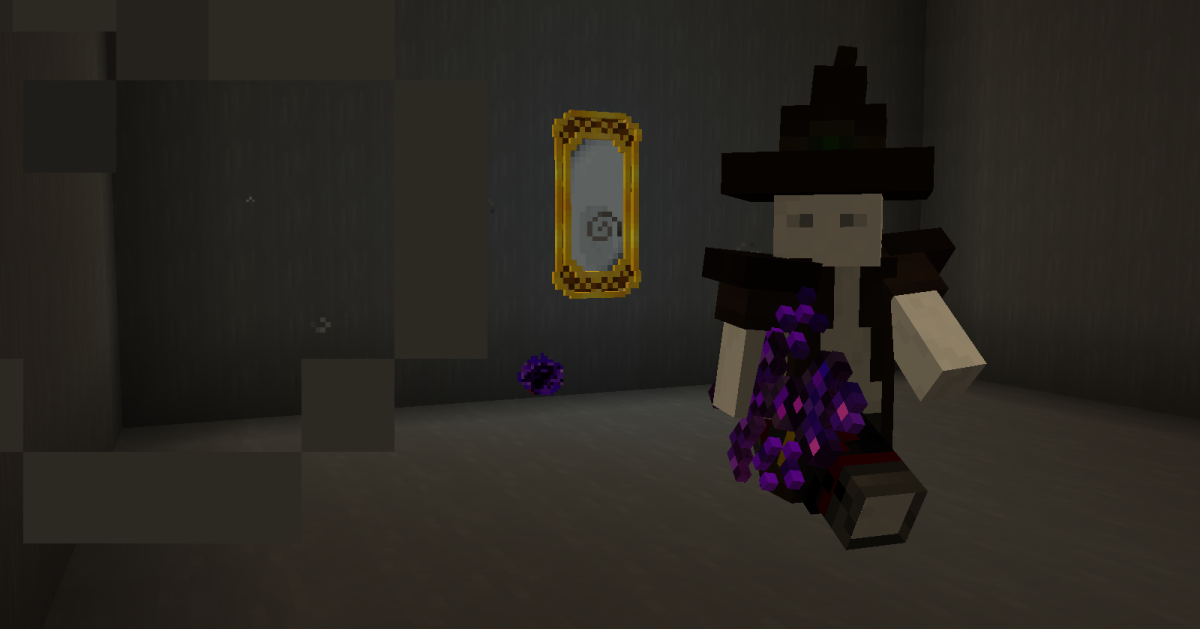 Be careful when entering the mirror, as the demon inside is powerful and can use any of your weapons or armor, even if they come from other mods.