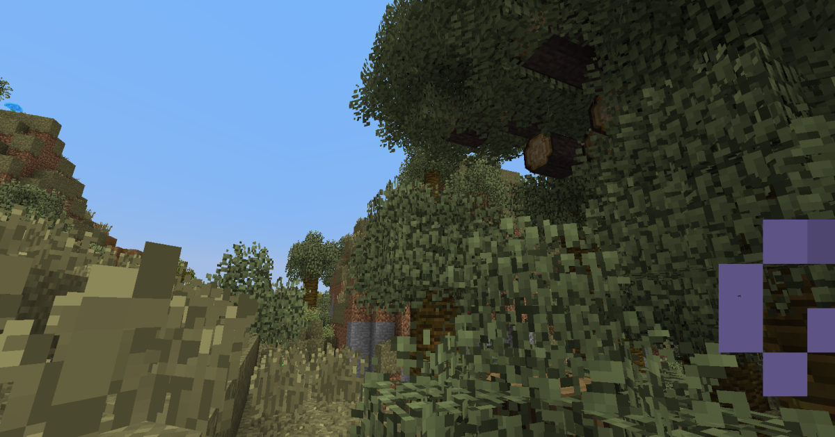 Better Foliage improves the appearance of forested areas in the game.