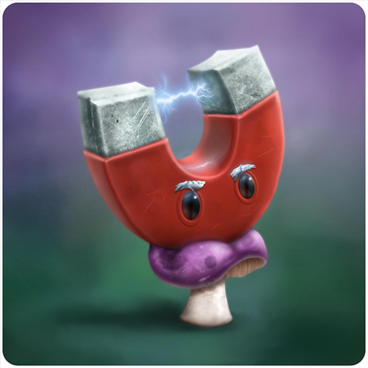 Magnet-shroom