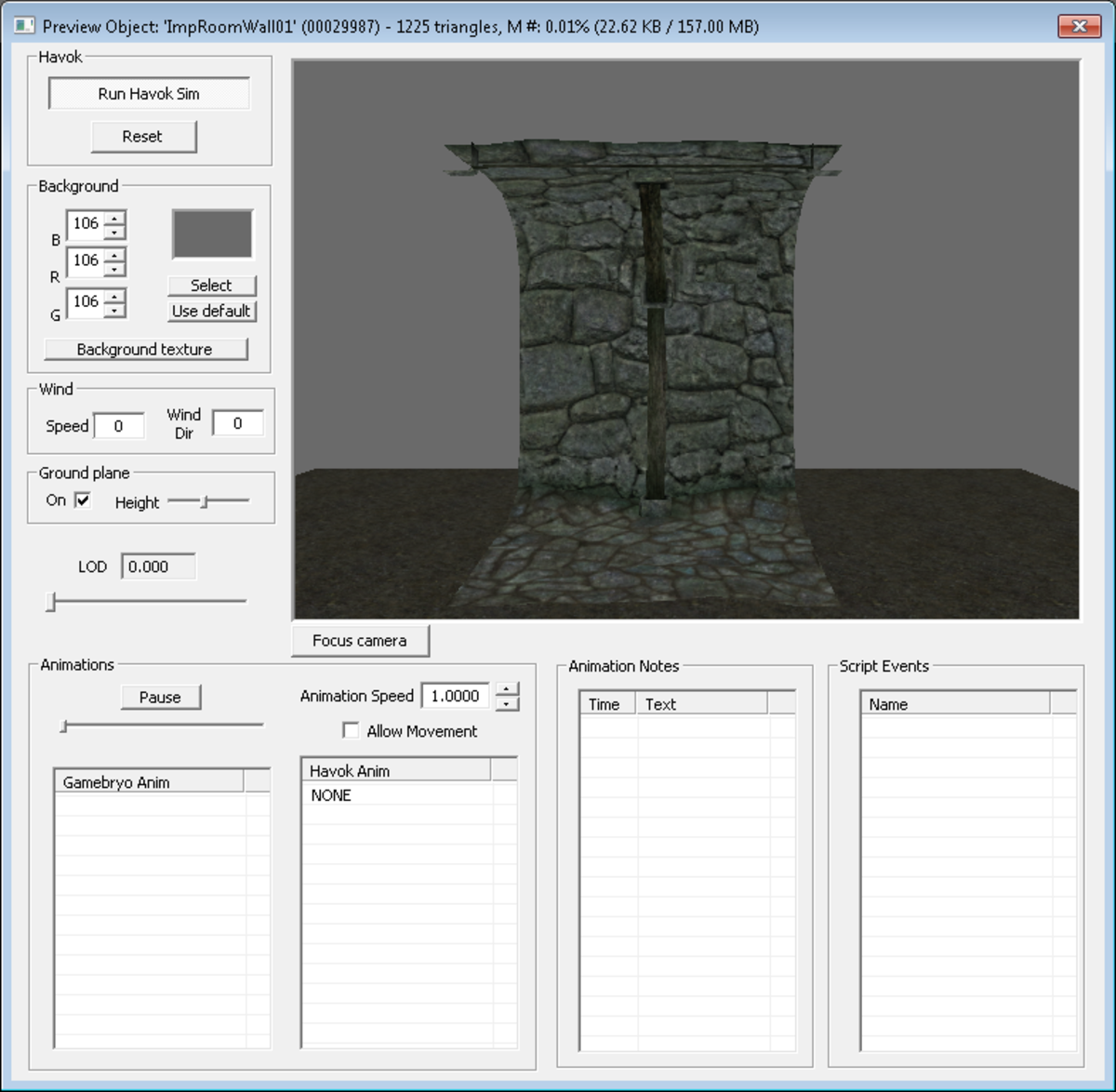 The Preview Object Window in the Skyrim Creation Kit allows you to look at an object before adding it to your mod, saving you a lot of time when selecting objects to use.