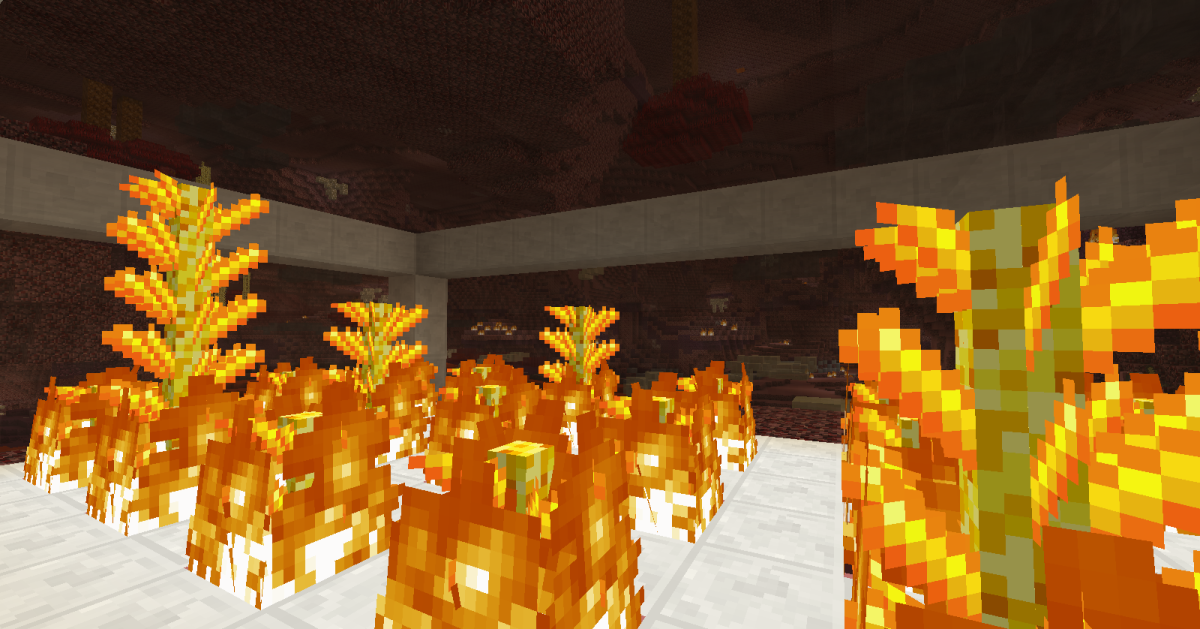 Blazing Cactoids can be cut down and the parts smelted, and then those pieces can be rebuilt into blaze rods.