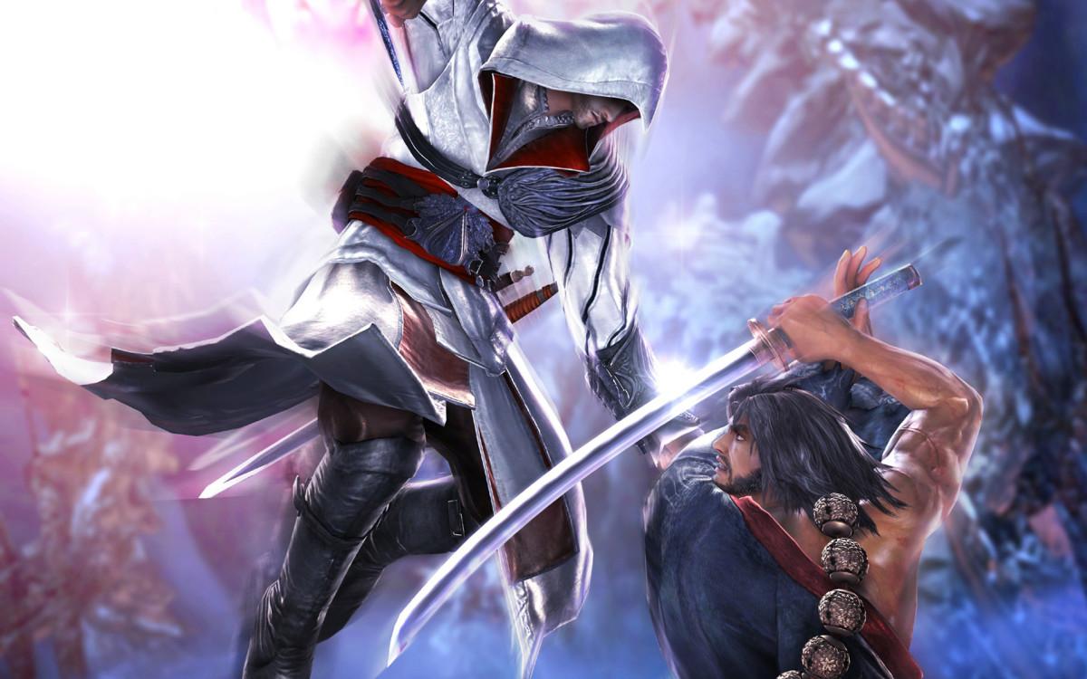 Ezio vs Mitsurugi