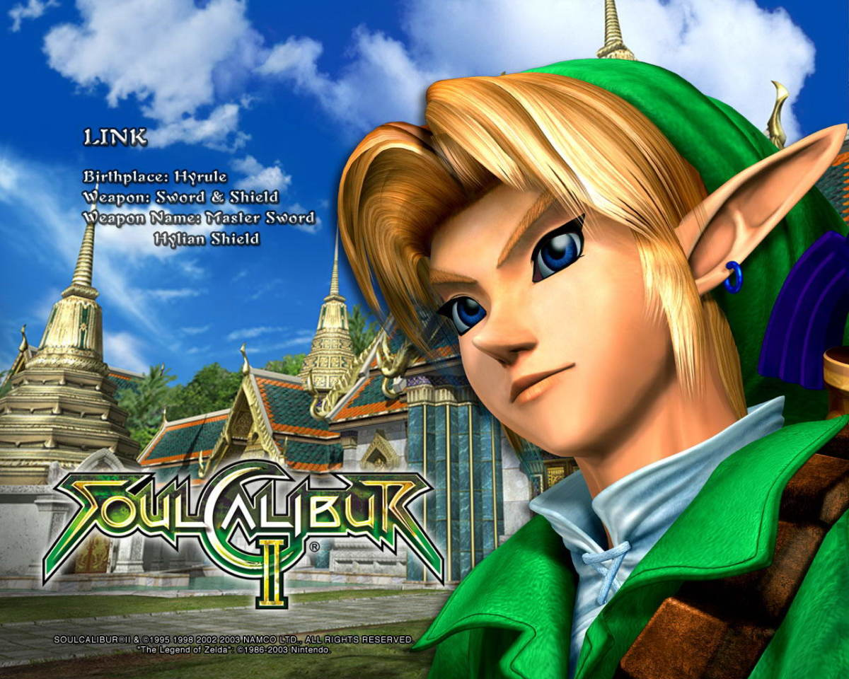"Link in ""Soul Calibur 2"""
