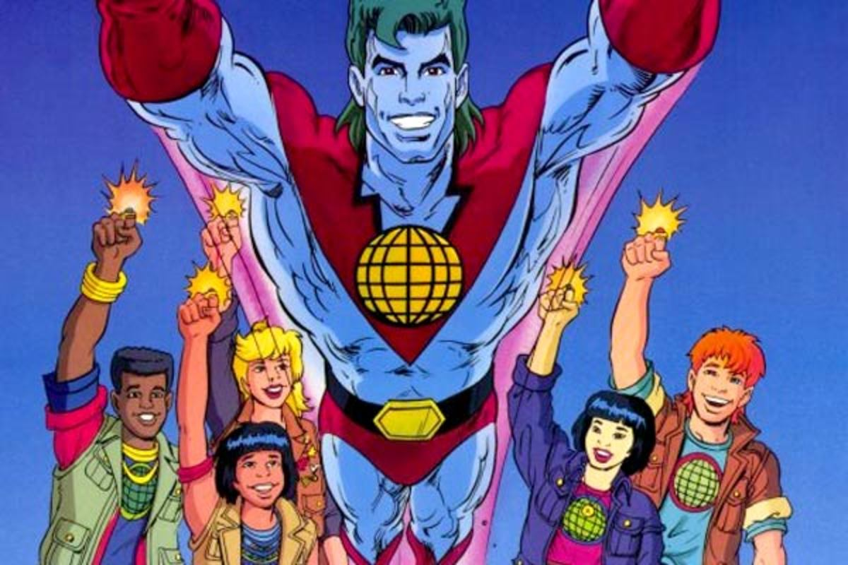 Captain Planet and his Planeteers