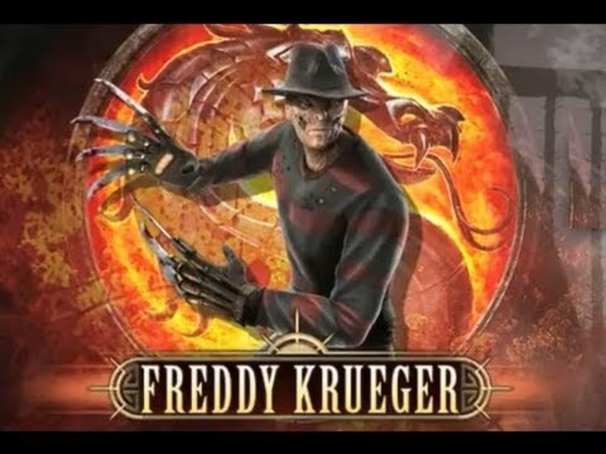 "Freddy Krueger in ""Mortal Kombat"""