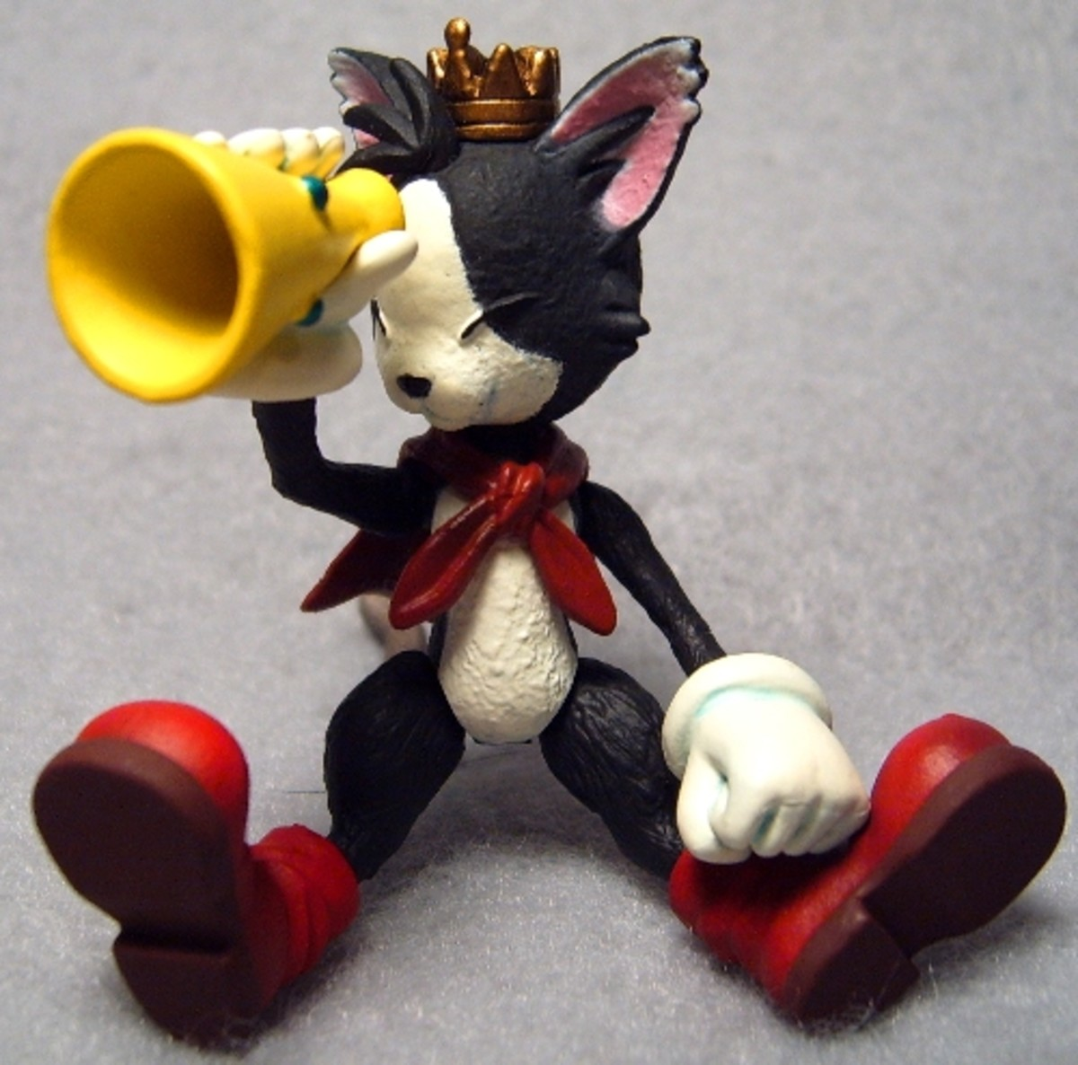 Cait Sith and his megaphone