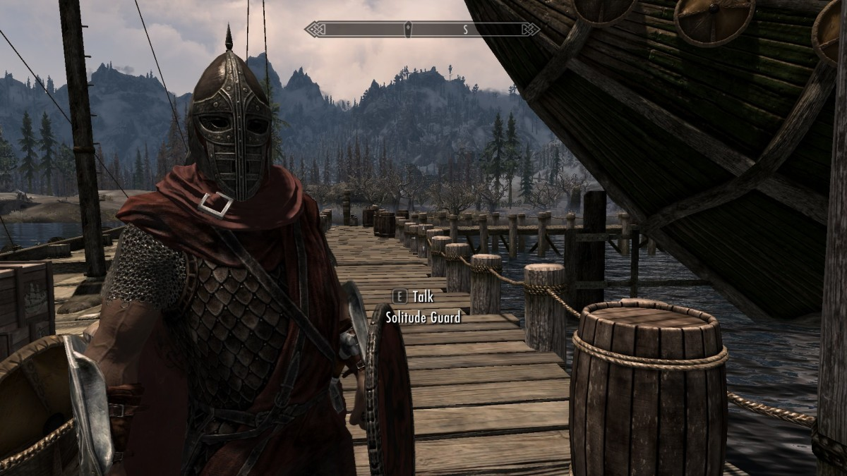 "Playing ""Skyrim"" with mods makes for a beautiful and fun game to play."