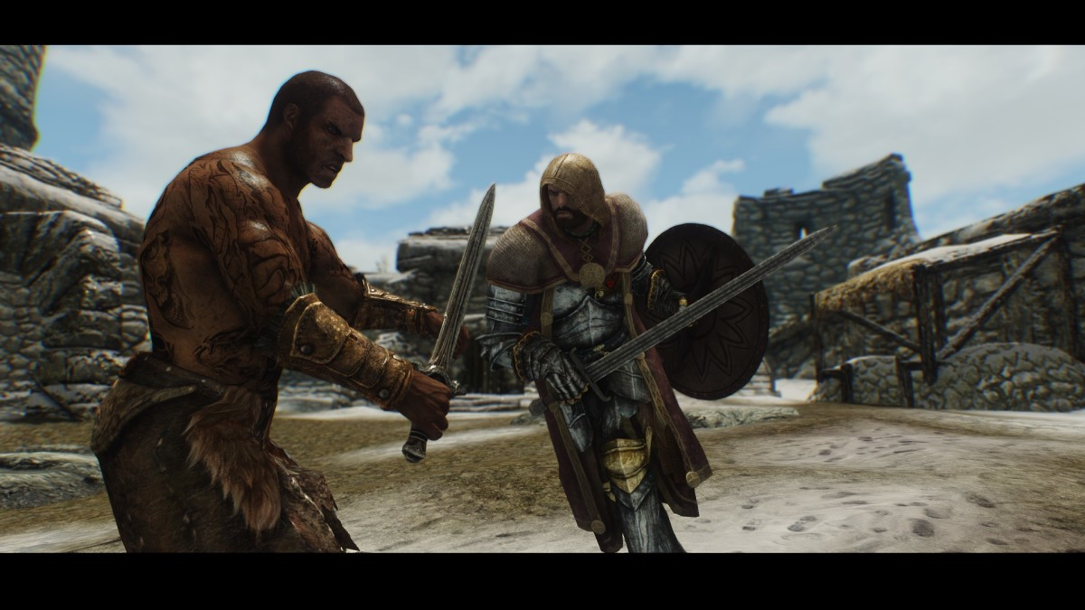 """New high quality armour for """"Skyrim"""" from the Immersive Armors mod by Hothtrooper44."""