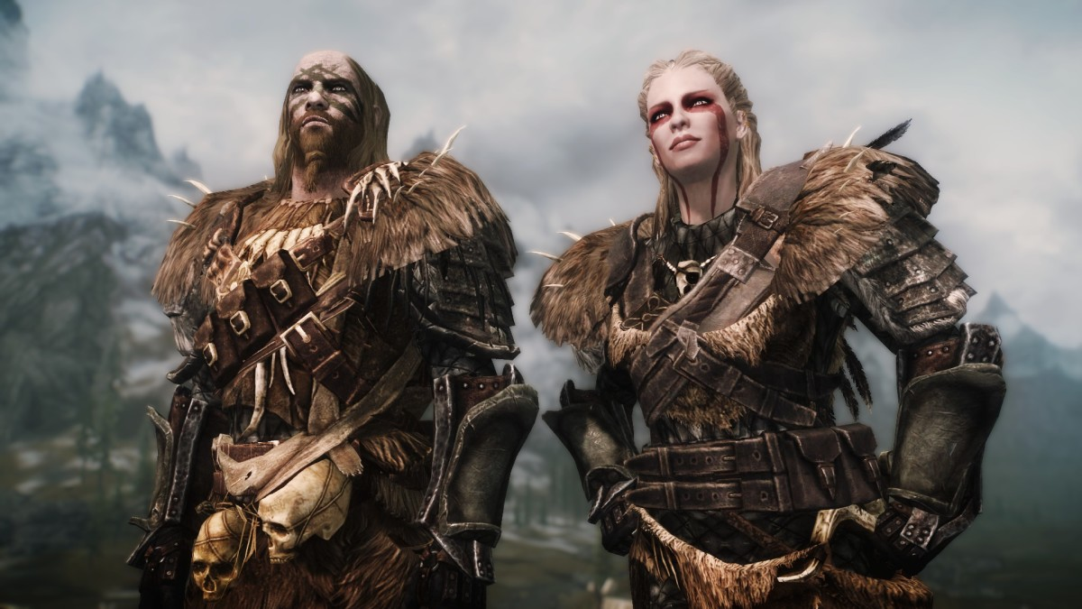 """""""Warchief Armor"""" by hothtrooper44 adds fantastic armour for a Barbarian character to """"Skyrim""""."""