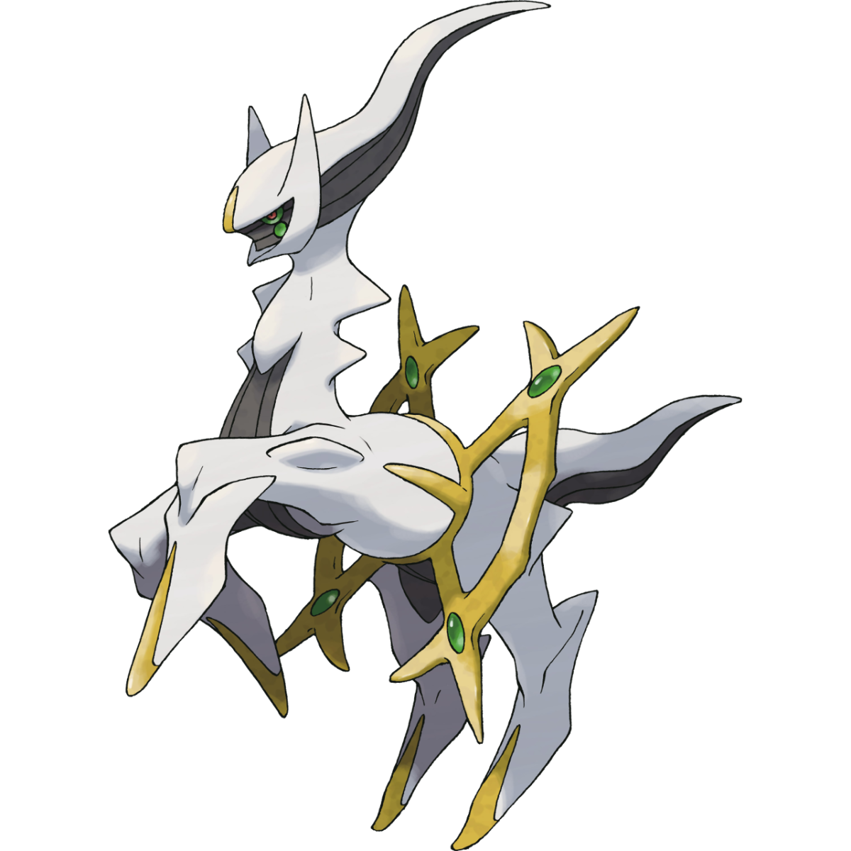 Arceus, in many tales, is the very first Pokemon.