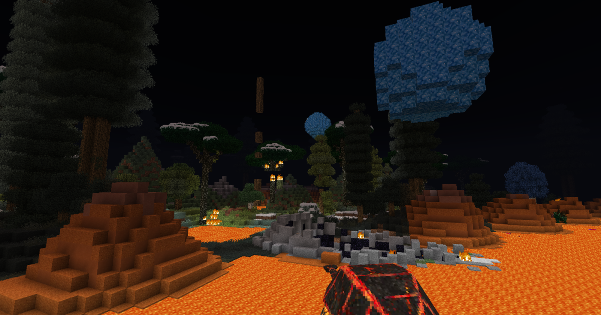Occasionally players can find crystal formations while exploring new worlds, though depending on the shape it takes, getting to it can be a major challenge.