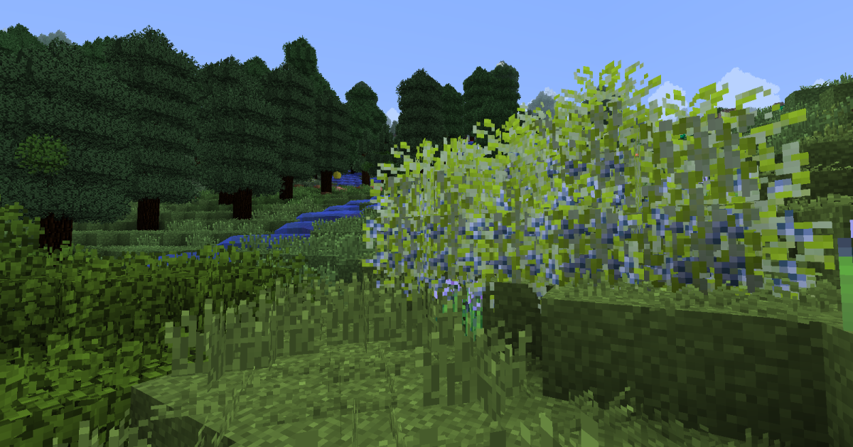 Berry bushes are a common sight in the game's more pleasant zones, and offer an easily accessible source of food for players just starting a new game.