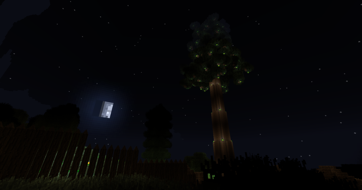 Redwood trees are easily Natura's biggest landmarks, and can be remodeled into a very impressive home or chopped down to supply players with more wood than they may ever need.