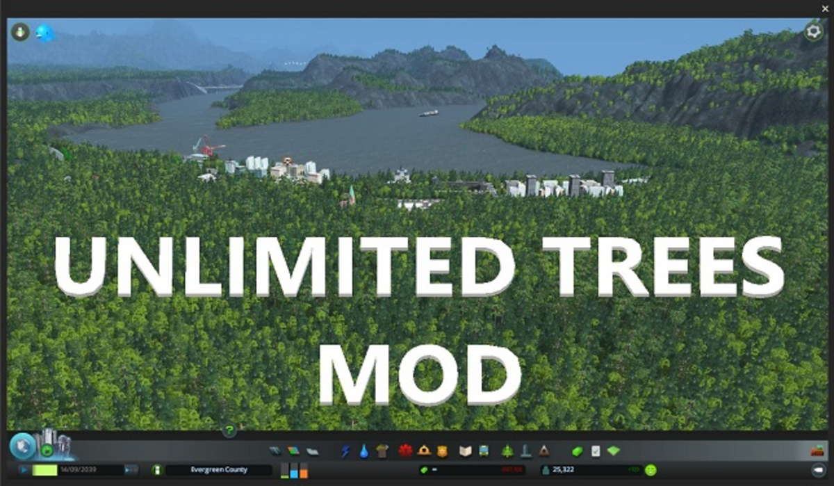 Unlimited Trees Mod v1.11 Created by DRen72