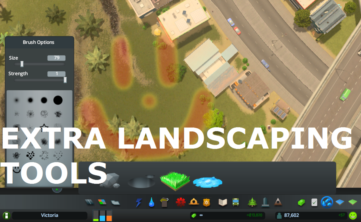 Extra Landscaping Tools created by BloodyPenguin