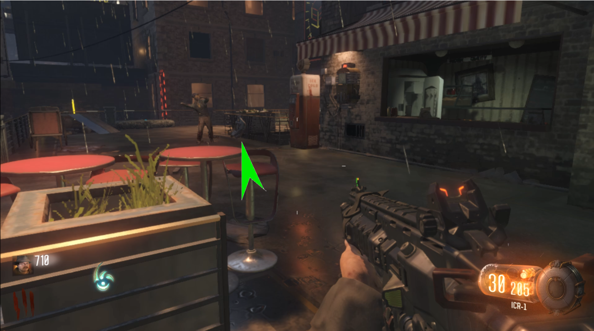 This first location is easy to find, as the part could be sitting right next to the perk machine.