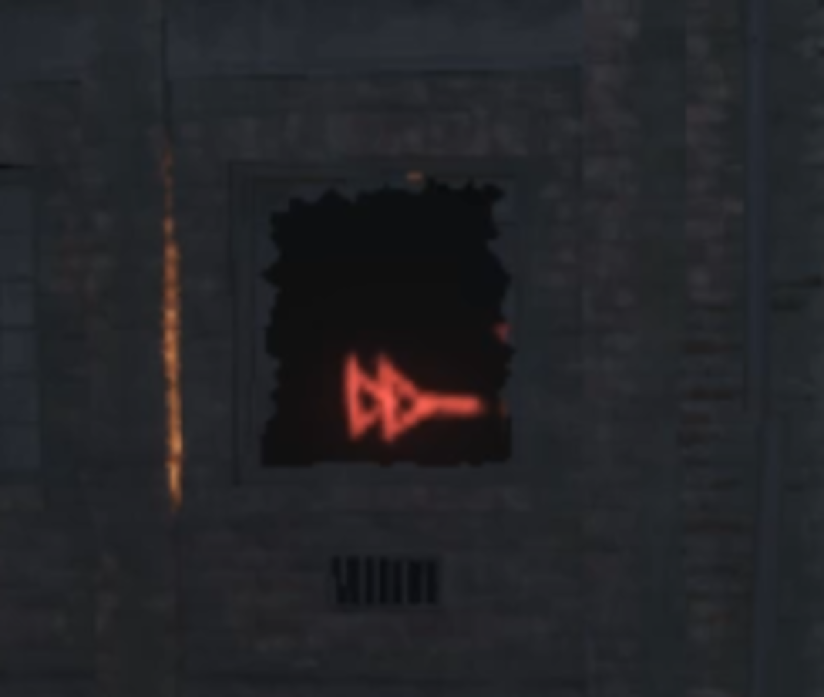 The Symbols will always be red and have arrows pointing to the right.