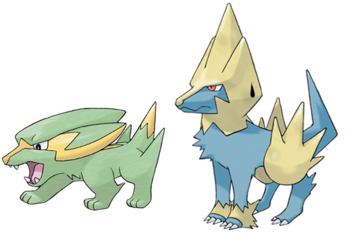 Electrike (#309) and Manectric (#310)