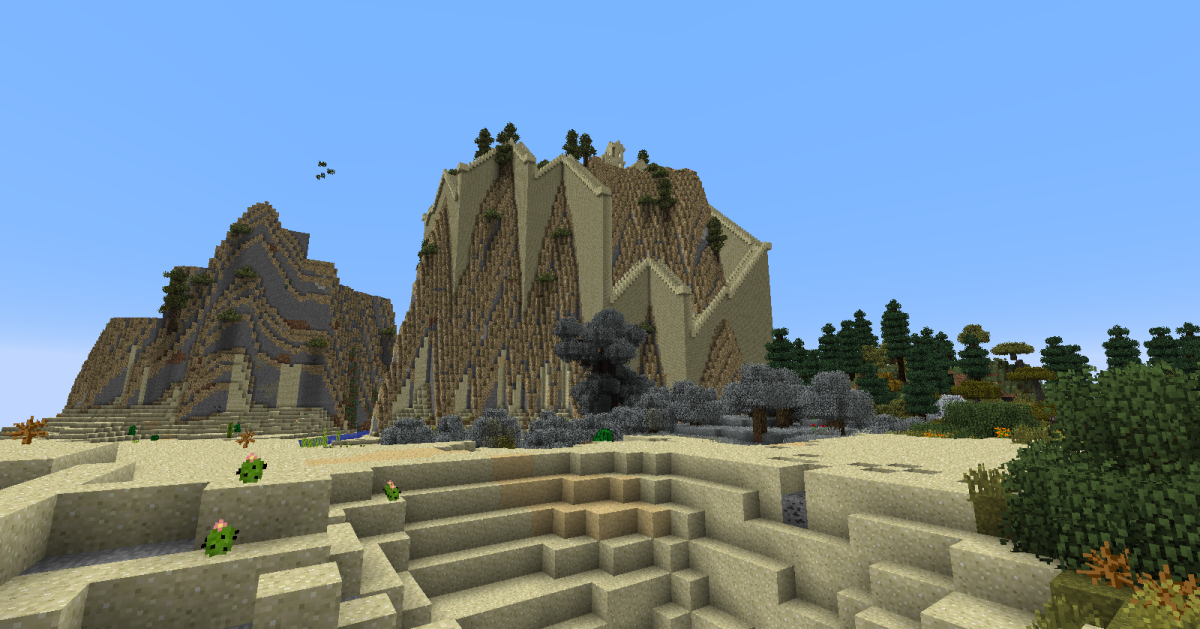 The most fun part of Climate Control may be just how many ridiculous scenarios can be caused. Players can make biomes that can be walked across in seconds, set all villages to generate on mountains, or make Thaumcraft's taint the most common biome.