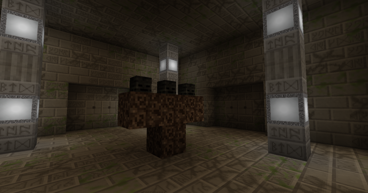 Each room in the dungeon dimension has some kind of challenge, though not all of them are immediately dangerous.