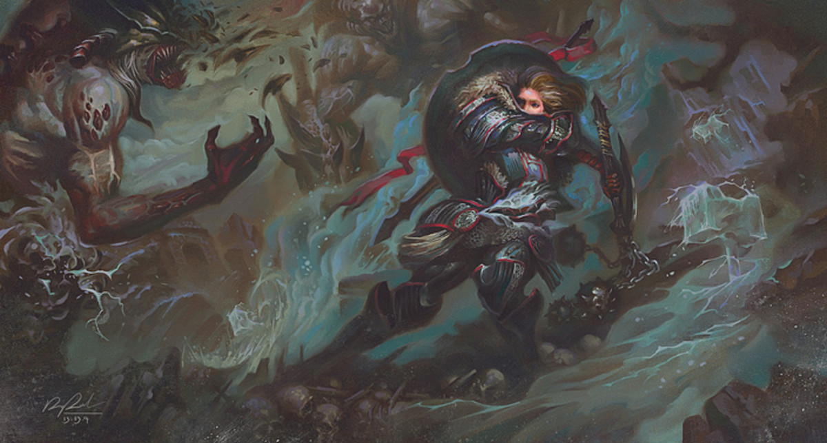 The Blessed Hammer -  By: Nguyễn Duy Anh (Dusk Ace)