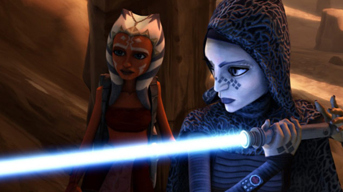 Ahsoka and Barriss