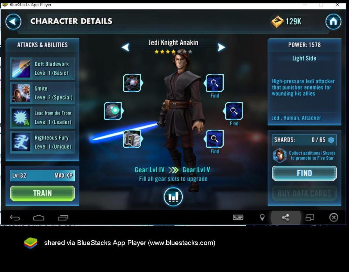 Star Wars Galaxy of Heroes: Jedi Knight Anakin